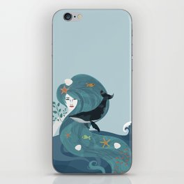 Aquatic Life of a Seaflower iPhone Skin