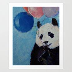 Panda Party Art Print