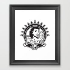 OH CHIT! Framed Art Print