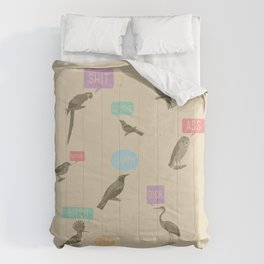 Fowl Language Comforters