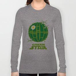 Green Star Long Sleeve T-shirt