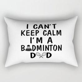 I'M A BADMINTON DAD Rectangular Pillow