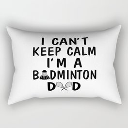 I'M A BADMINTON DAD Rectangular Pillow