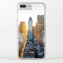 Beautiful NYC Clear iPhone Case