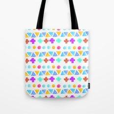 Retro pattern pencil  Tote Bag