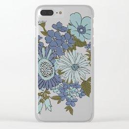 Dorchester Flower 3 Clear iPhone Case