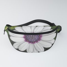 Flower Portriat - Purple Power Fanny Pack