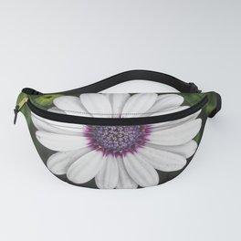 Flower Portriat - Purple Power Fanny Pack