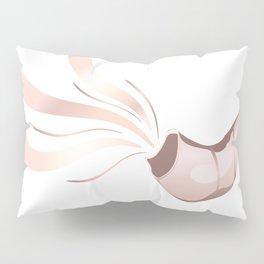 Jewish shofar rose gold Pillow Sham