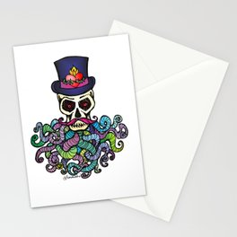 Headless Horseman's Head - The Tentacle Collection Stationery Cards