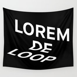 Logo Wall Tapestry