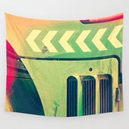 Road Roller Chevron 02 - Industrial Abstract (everyday 18.01.2017) Wall Tapestry