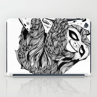 sloth iPad Cases featuring Sloth  by Animaux Circus