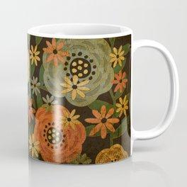 Grunge Floral Coffee Mug