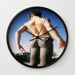 Ballerina Boy Wall Clock