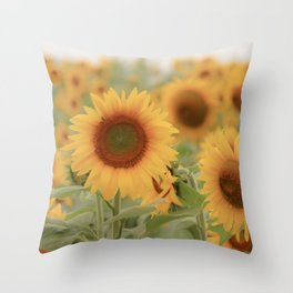 Sunny Side of Life Throw Pillow