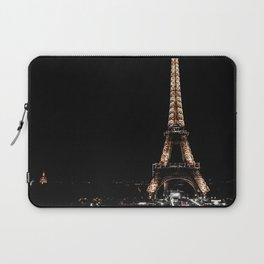 Gold Eiffel Tower Laptop Sleeve