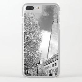 The Shard London Bridge Tower England Clear iPhone Case