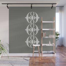 Alien crop circle, Sacred geometry Wall Mural