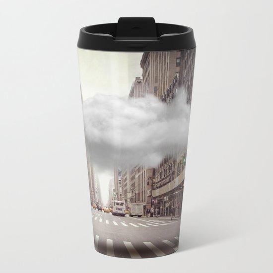 Under a Cloud II Metal Travel Mug