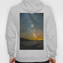 Milky Way Galaxy in Manitoba Hoody