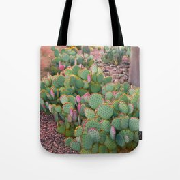Prickly Pear Cactus Arizona Tote Bag
