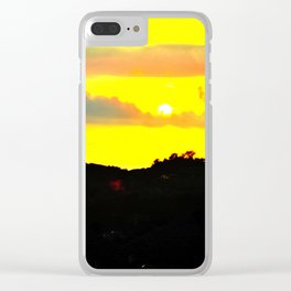 Extreme Sud Italy Clear iPhone Case