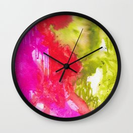 Intuitive - Karla Leigh Wood Wall Clock
