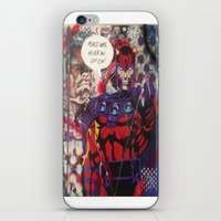 magneto iPhone & iPod Skins featuring magneto by Marly_mcfly87