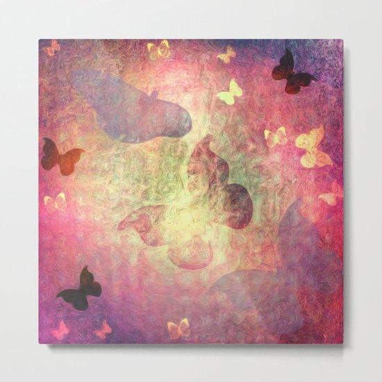 Flutter Dreams II Metal Print