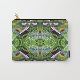 Green Diamond Star Carry-All Pouch