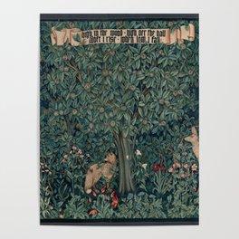 William Morris Greenery Tapestry Poster