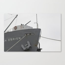Lady of the Boat Canvas Print