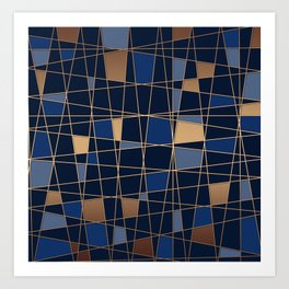 Abstract background 23 Art Print