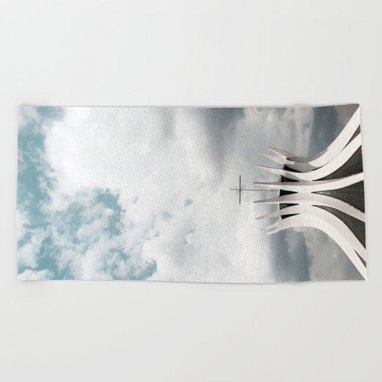Cathedral | Brasília | Brazil Beach Towel