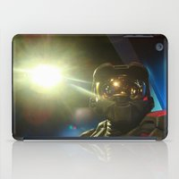 master chief iPad Cases featuring Master Chief by Yajaira Gomez