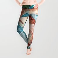 river Leggings featuring River Ramblers by Taylor Rose