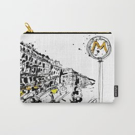 Parisian Street View Carry-All Pouch