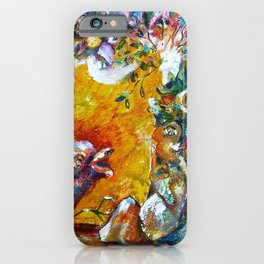 Psst...Lingering Silence iPhone Case