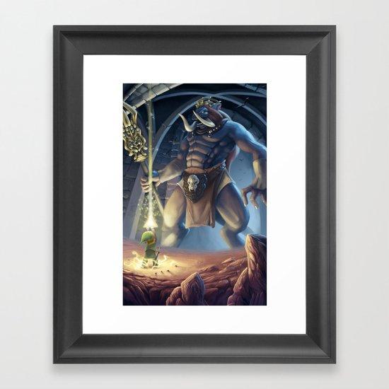 Final Boss Framed Art Print