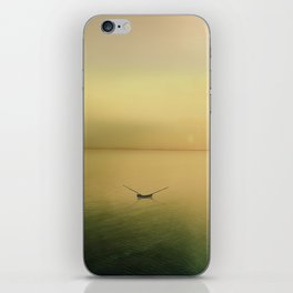 Serene buoyancy iPhone Skin