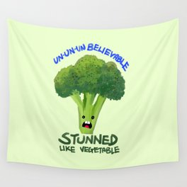 Stunned Like Vegetable Wall Tapestry