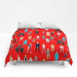 Starman on Red Comforters