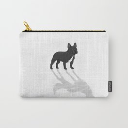 Wild At Heart - Black French Bulldog Carry-All Pouch
