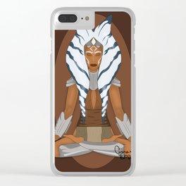 Master Jedi - Ahsoka Tano Clear iPhone Case