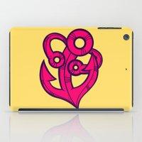 anchor iPad Cases featuring Anchor by Artistic Dyslexia