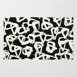 Tribal Triangle Dots Rug