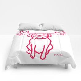Scamp The Reindeer Dog Comforters