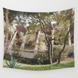 forest building Wall Tapestry
