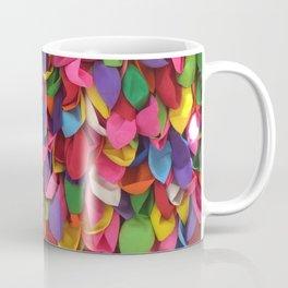 Rainbow Balloons Deflated Coffee Mug